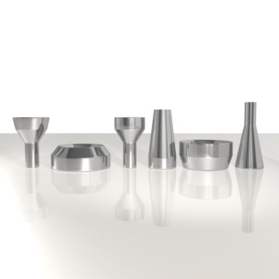 3D RENDERED PEWTER TABLEWARE