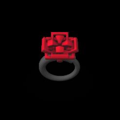 RED GEOBLOOM 1