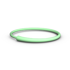 Green 3D Printed Bangle