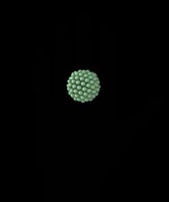 Green 3D Printed Ring